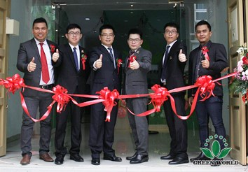 The Opening Ceremony of Green World Indonesia Medan Branch – A Complete Success
